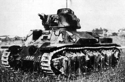 французский танк renault d2
