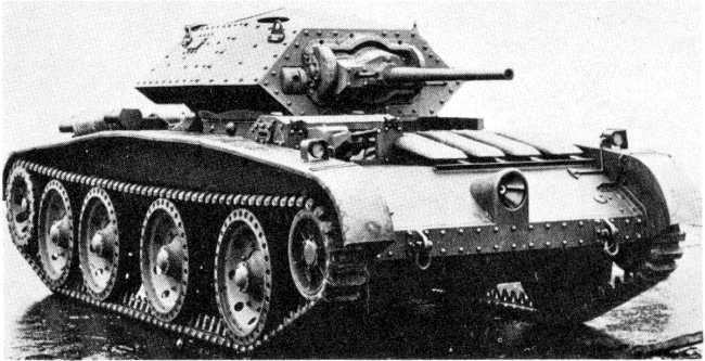 Cruiser Tank Mk.V Covenanter