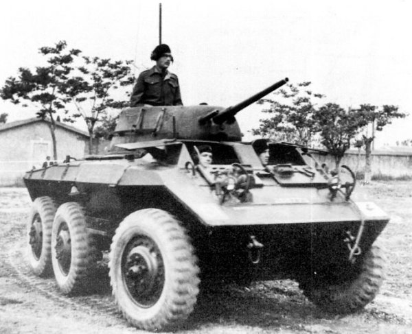 Light Armored Car M8 Greyhound