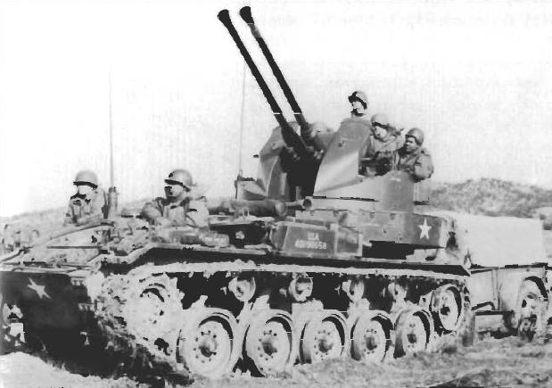 Twin 40mm Gun Carriage M19