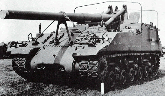 155mm Gun Motor Carriage M40